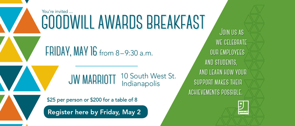 2014 Goodwill Awards Breakfast