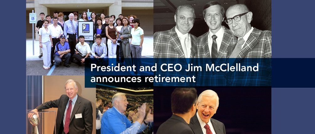 Jim McClelland Retirement