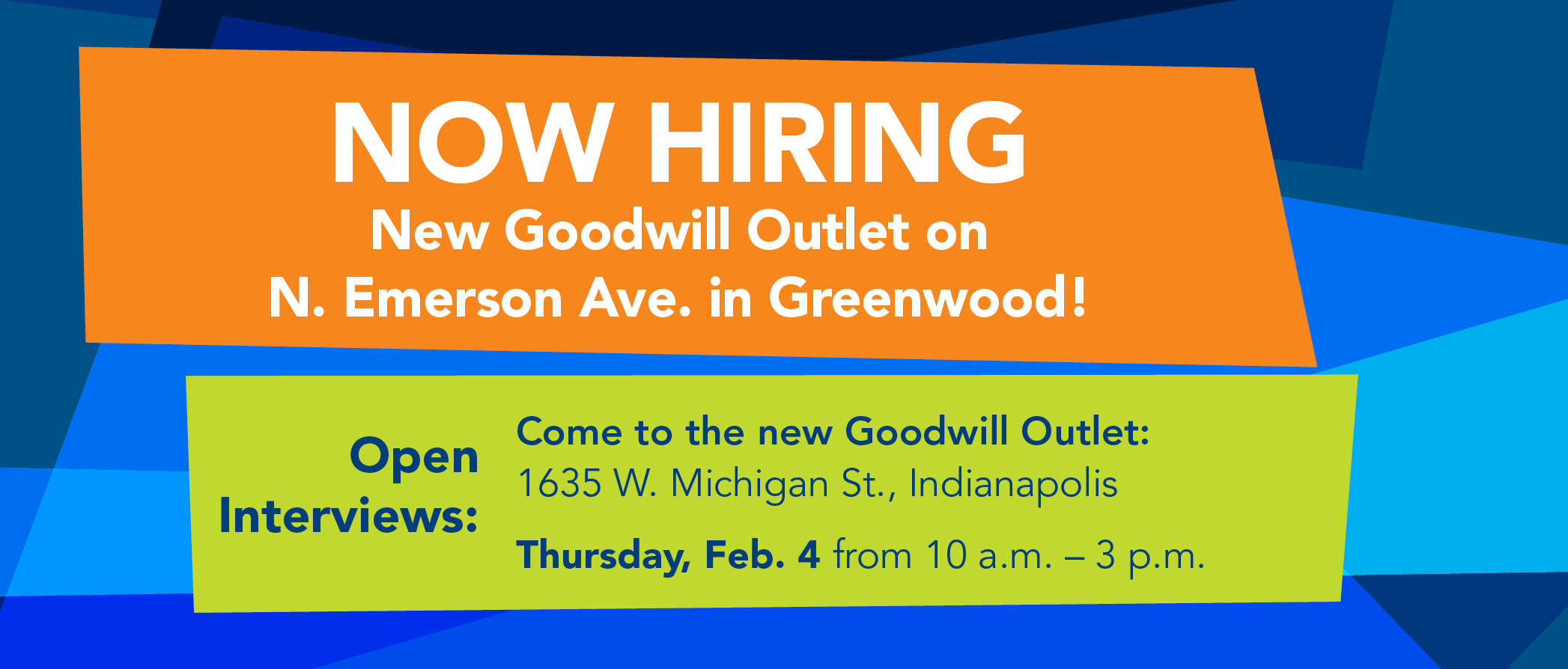 Open Interviews Outlet South