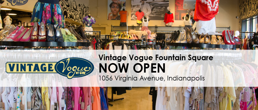Vintage Vogue Fountain Square Grand Opening