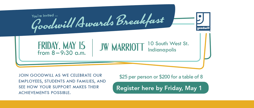 Goodwill's Annual Awards Breakfast